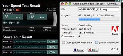 Speedtest untuk Firstmedia
